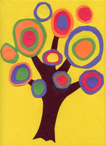 Artist Kandinsky tree