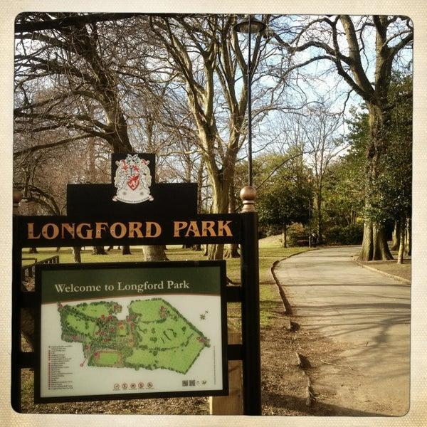 Map of Longford Park