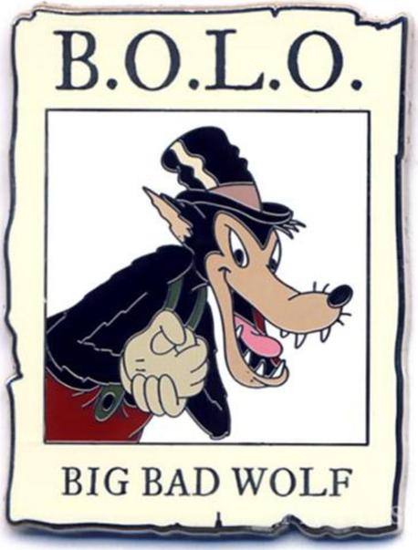 BOLO means 'Be on the look out!'