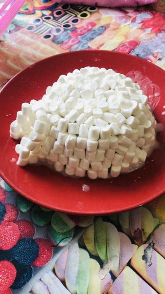 Alfie's marshmallow igloo