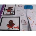 Robin Paintings