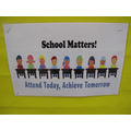We are supporting attendance at school