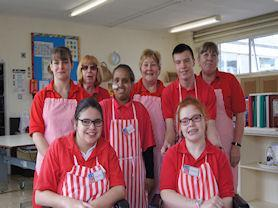The Victoria Cafe team.