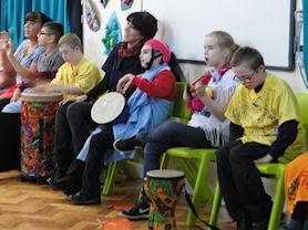 Armonico music workshops.