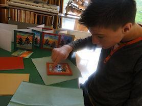 Card making.