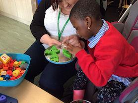 Developing number skills in Early Years.