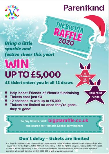 Buy a ticket in the PTA Raffle!