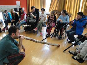 Didgeridoo Workshop with Greg.