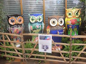 'The Big Hoot' exhibition in 2015.