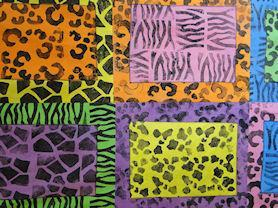 African prints with Toni Burrows.