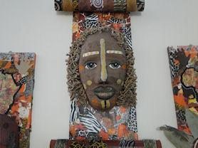 African Art by Upper School.