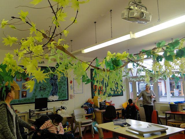 A Key Stage 3 Classroom