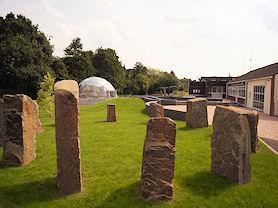 The stone circle.
