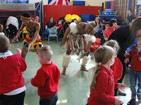 Zulu dance.