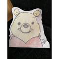 A Winnie the Pooh drawn by Alfie!