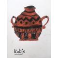 Katie's fantastic Roman pottery!