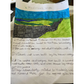 Ruby-Joy has been researching Hadrian's Wall ...
