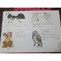 Effie's well chosen animals linking to our values!