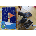 Betty's amazing Little Boat inspired mosaic!