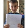 Louis' spelling letter
