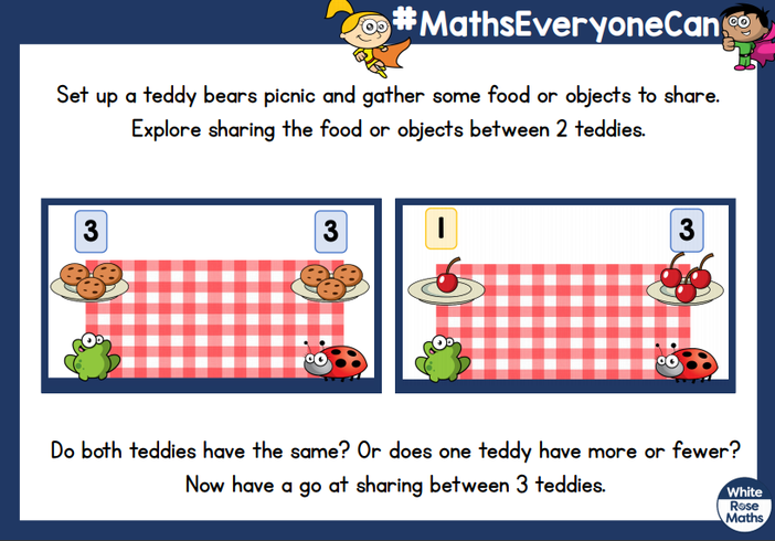 Send us a picture of your toys picnic - who has the most?