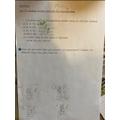 Micah has been using written methods for multiplication.