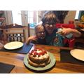 Jack made a fabulous cake