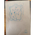 Jakub's detailed letter art!