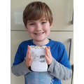 Billy designed and made a chocolate bar. Yum!