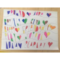 Katie's beautiful patterns with words!
