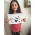 Sabrina's animal Venn diagram