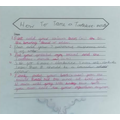 Katie has written clear steps describing how to tame her dragon.
