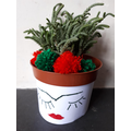 A Frida Kahlo plant pot design by Jimmy!