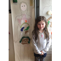 Ebony's digestive system