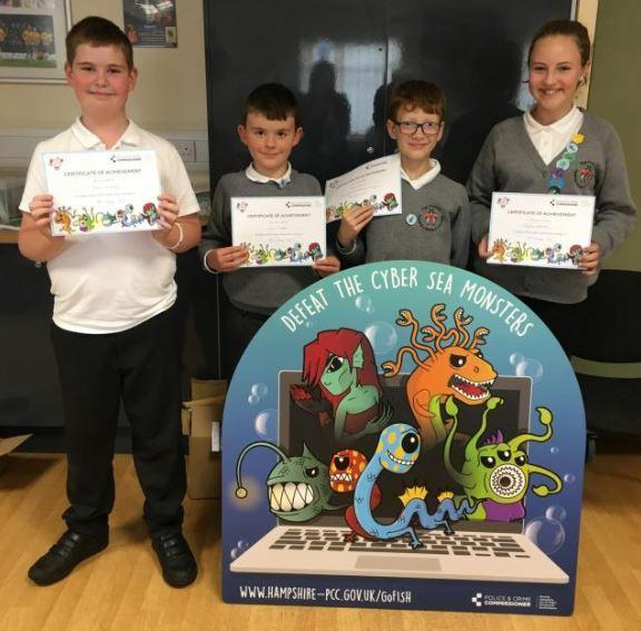 Our Cyber Safety Ambassadors  welcome you to our Internet safety page