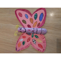 Holly - Beautiful butterfly craft!