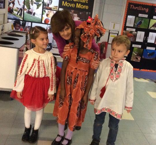 Village Infants diversity week