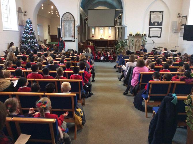 Annual Christmas Visit to Dagenham Parish Church