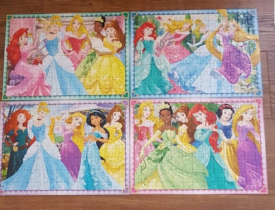 Milena has been completing this fabulous puzzle!
