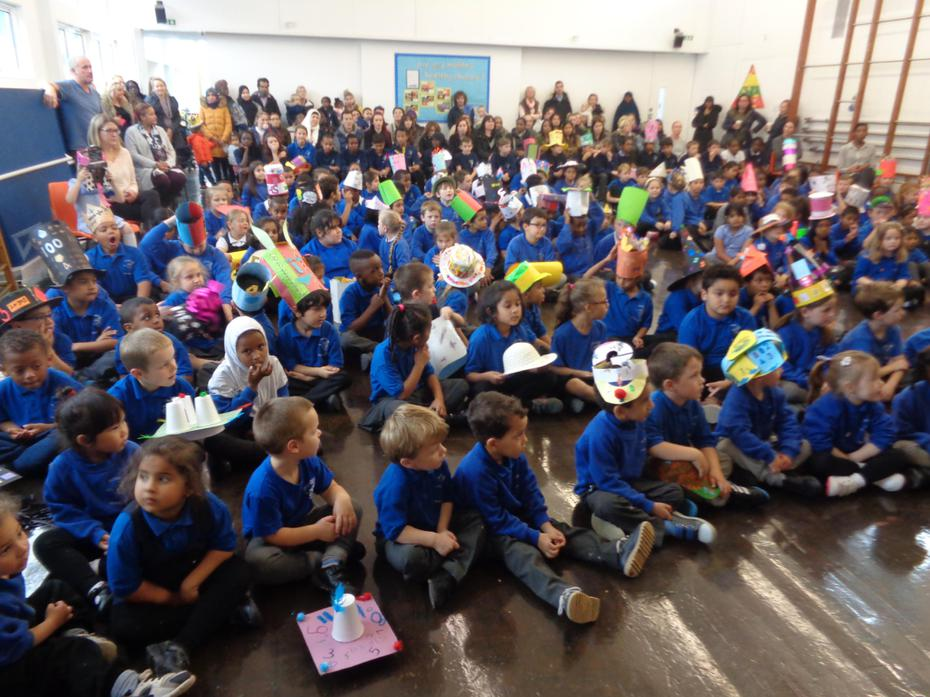 Maths Hat Assembly