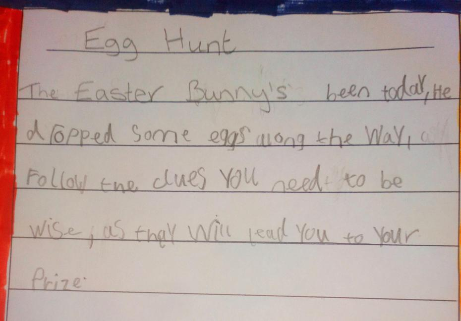 This Easter Poem by Teddy is truly wonderful! Wow!