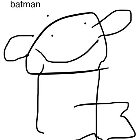 Albert's wonderful Batman!
