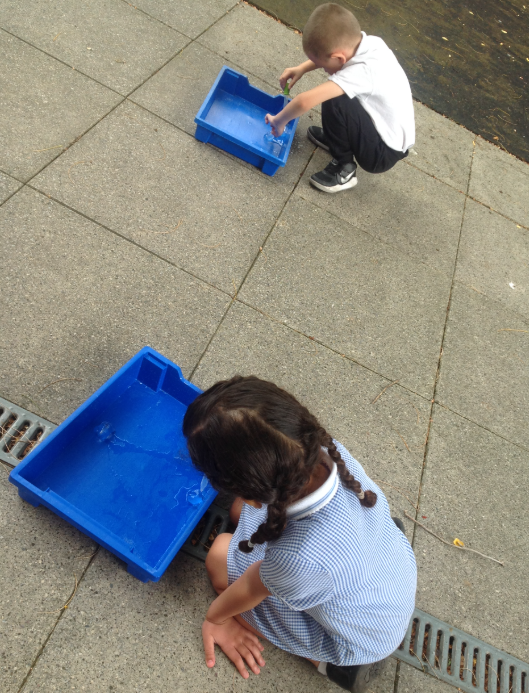 It was great to take Science outdoors this week!