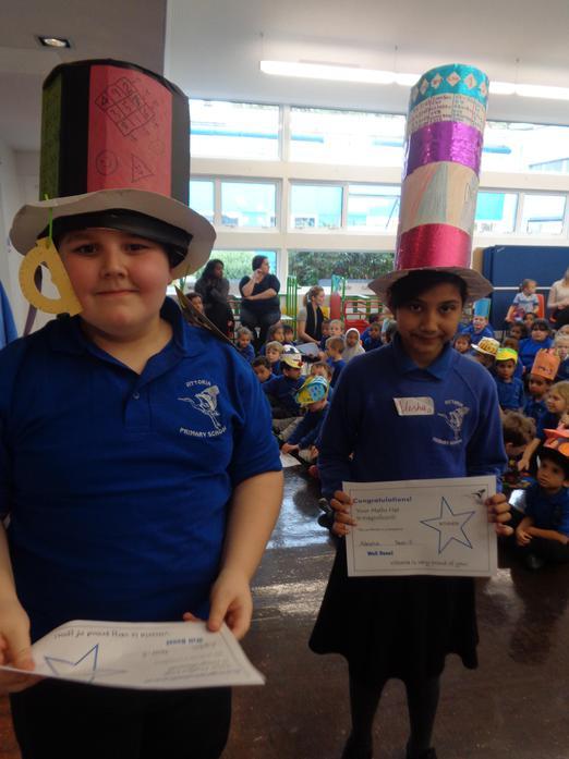 Maths Hat Winners!