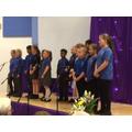 Vittoria choir singing Count on Me Bruno Marrs