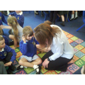 Dr Follows visits class 1
