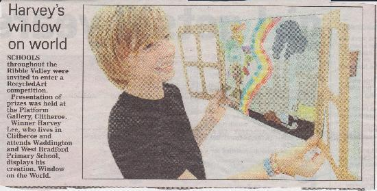 Harvey wins Eco Art Competition