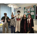 Year 5 rocking their costumes