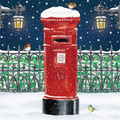 Christmas Post Box