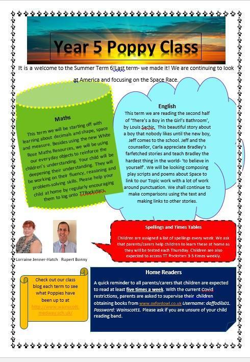 Term 6 Newsletter